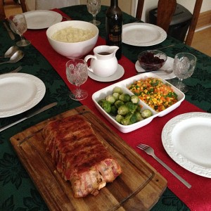 Christmas Turkey Meat Loaf